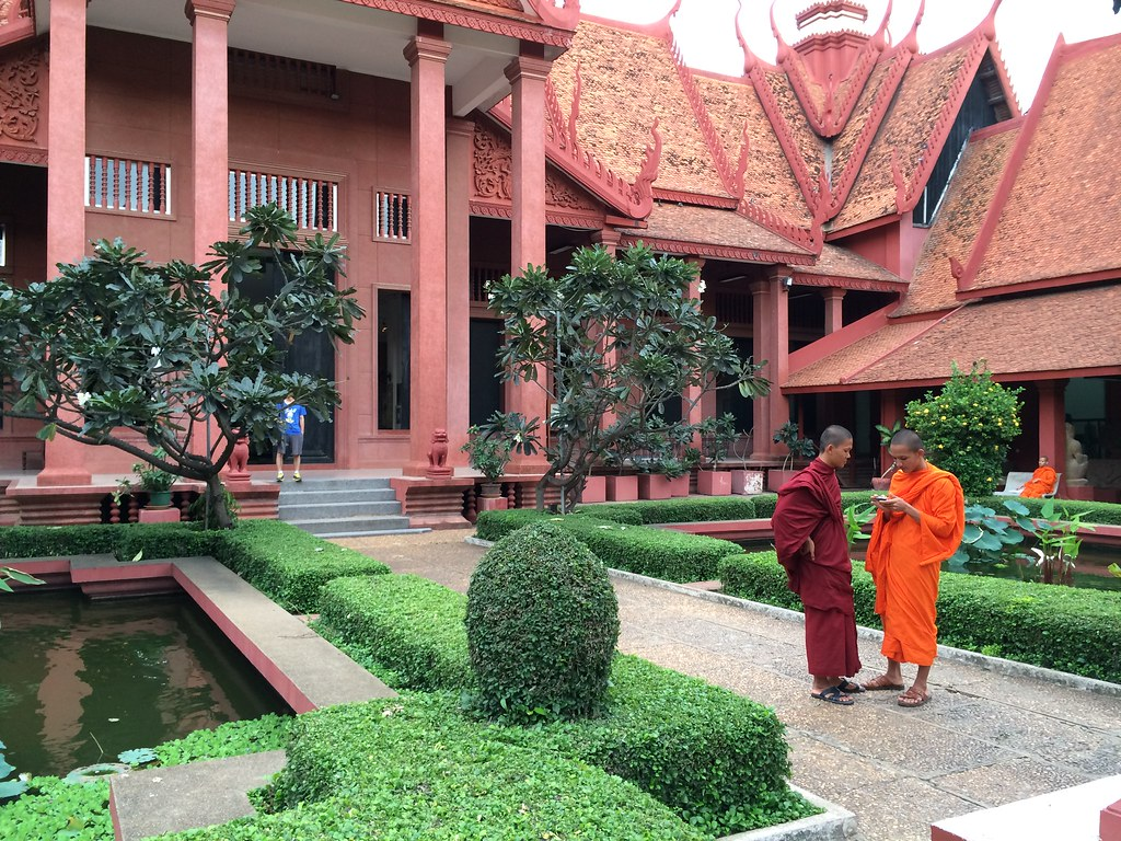 Monks at the National Museum