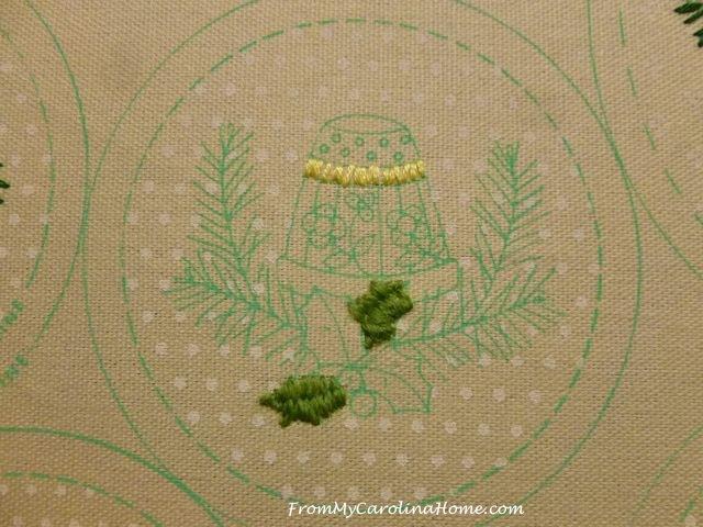 Slow Stitching Week 5 - thimble