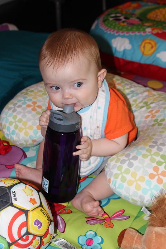 Finn stole my water!