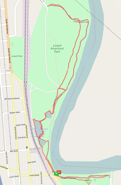 Today's awesome walk, 3.5 miles in 1:08, 7,537 steps