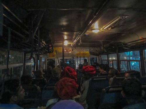 Bus retour:  de Ranakpur vers Udaipur