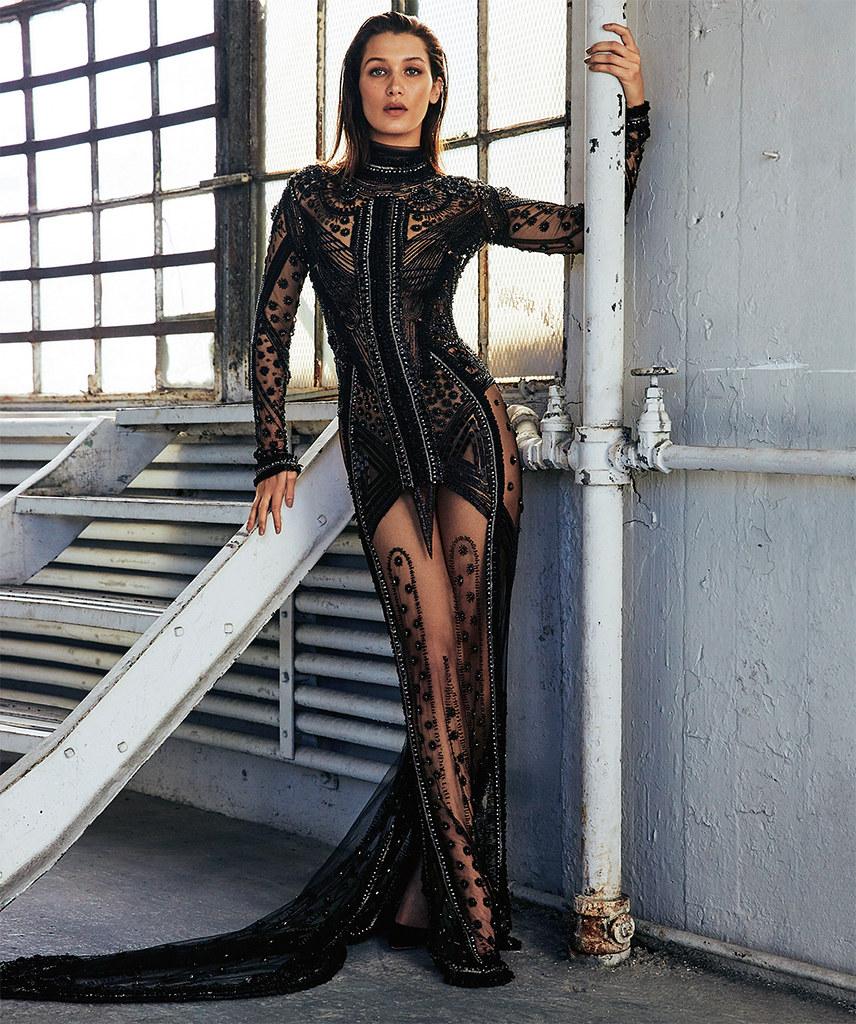 Белла Хадид — Фотосессия для «S Moda» 2015 – 5
