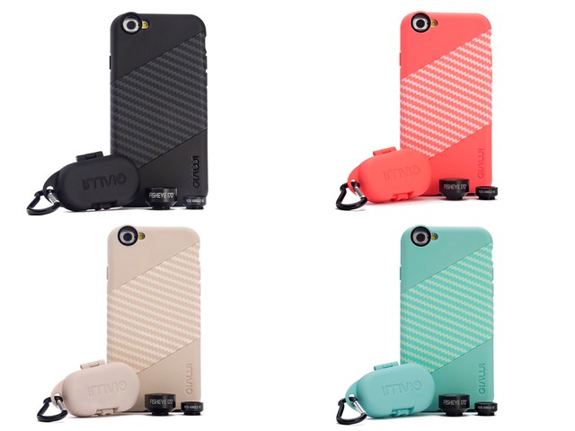 4 Colors IMVIO Cases and Lenses