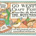Go West! Craft Fest Flyer by sarah draws things