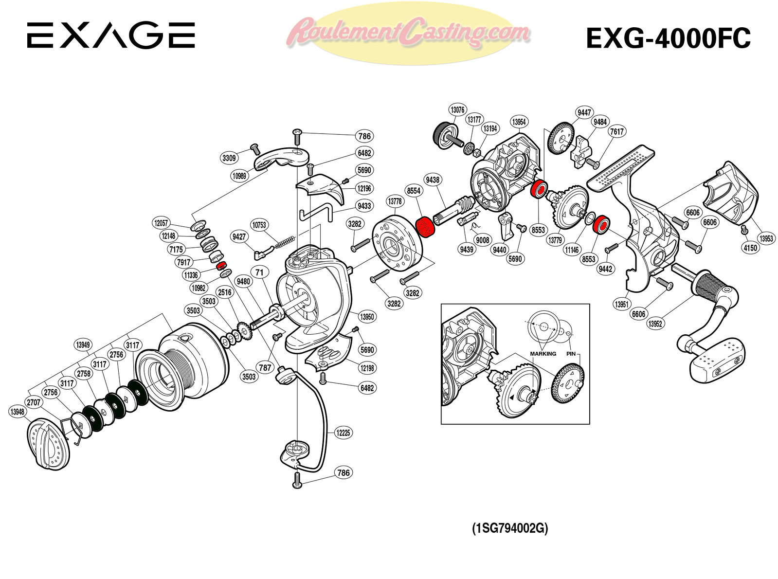 Schema-Shimano-EXAGE-4000FC