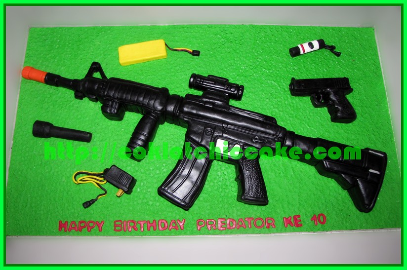Kue Air Soft Gun dan glock