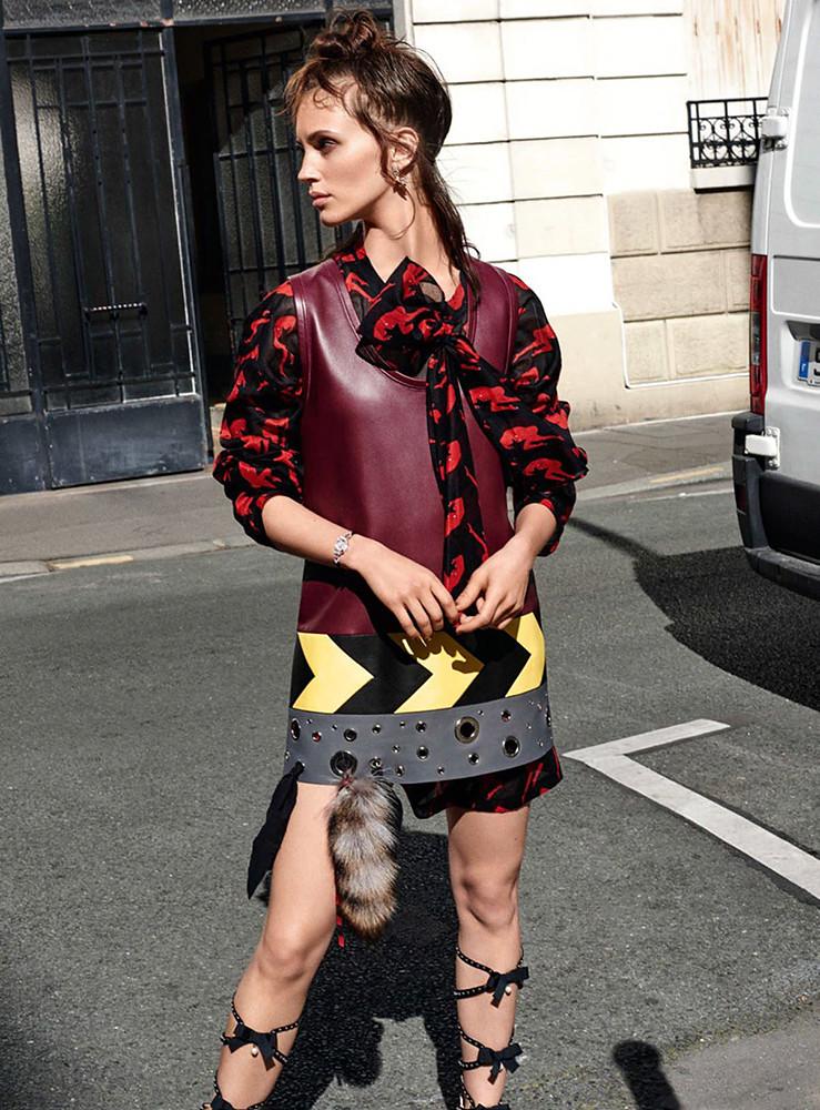 Марина Вакт — Фотосессия для «Vanity Fair» FR 2015 – 1