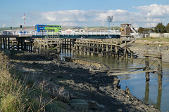 River Ouse and Newhaven Swing Bridge