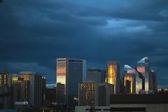 Downtown Calgary facing east