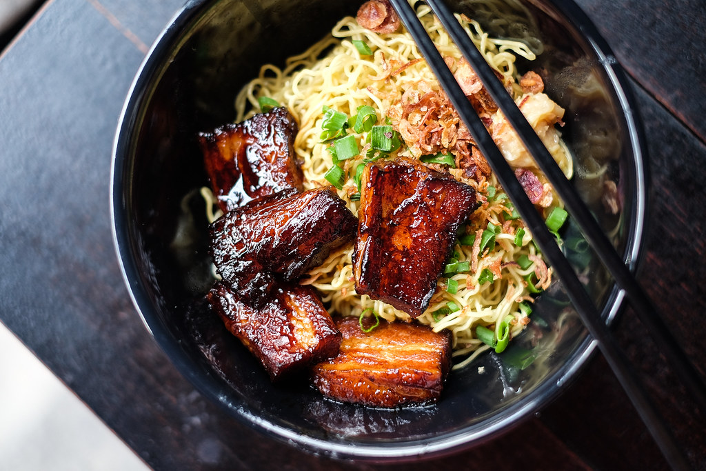 Wanton Seng's Noodle Bar: Char Siew Noodle