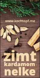 Blog-Event CXV - Zimt, Kardamom, Nelke (Einsendeschluss 15. Januar 2016)
