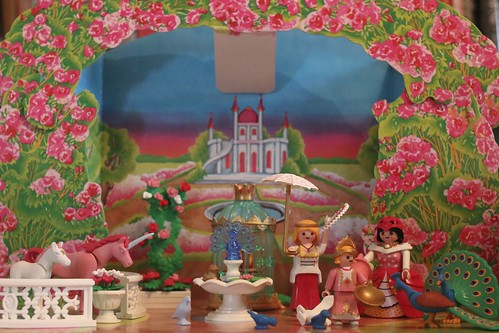 The Matriarchal Rainbow Glory of a Playmobil Nativity Scene