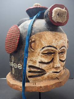 PC183393 c Janus helmet mask, Igala people, Nigeria. WA02531