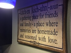 Elves in Disguise 2015: Kitchen sign