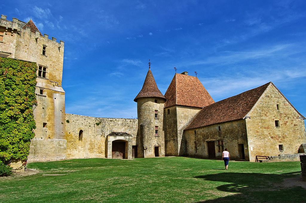 Chateau de Biron - Dordogne - France