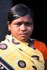 Local woman in the tribal village of Bantalbiri, Odisha