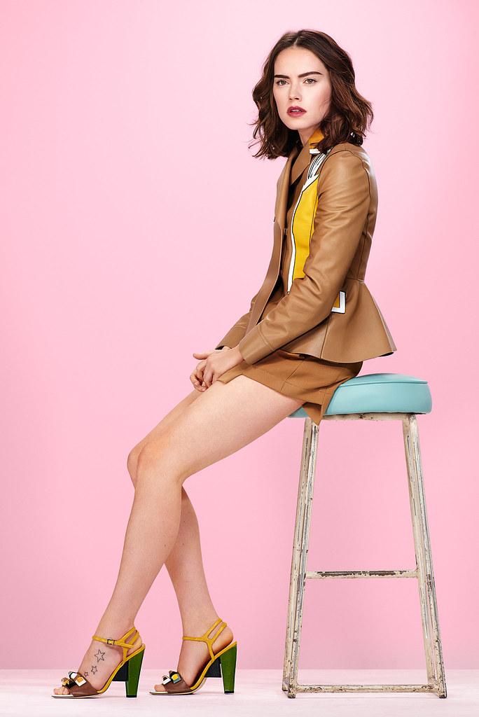 Дэйзи Ридли — Фотосессия для «Glamour» UK 2015 – 1