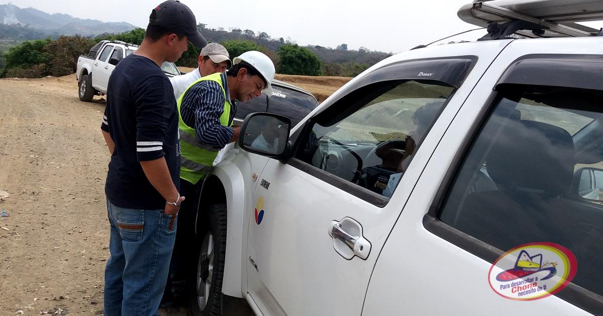 Técnicos evaluaron avance de obras ambientales en Chone