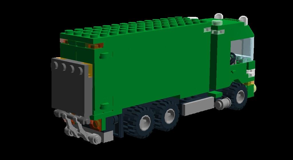 Irish Post Truck - 10 - Tail Lift