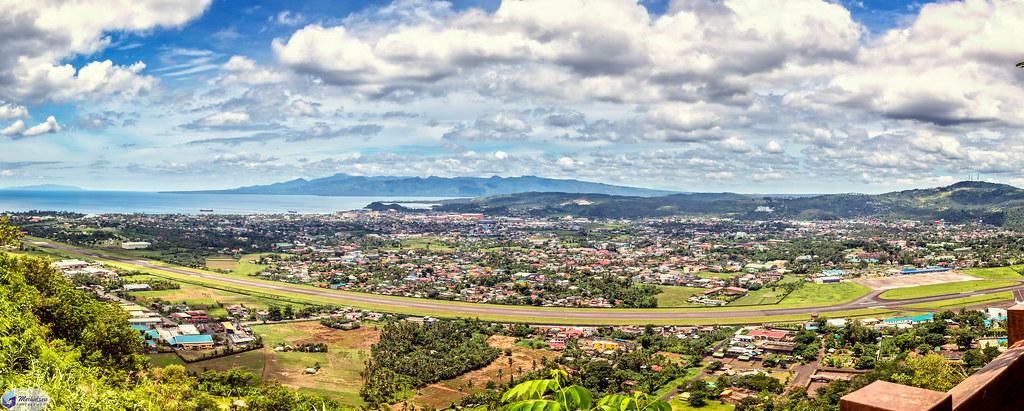 Pano of Legazpi city.