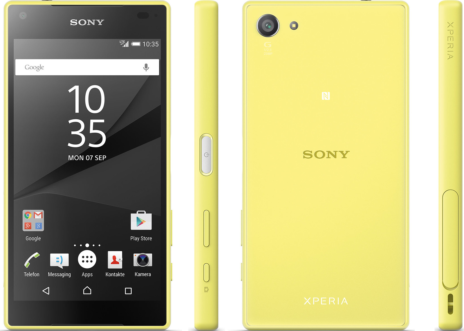 Xperia Z5 Compact 実物大の製品画像1