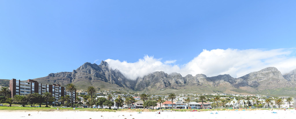 Campsbay Mountain Pano