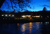 Pitlochry Festival Theatre in December Dusk