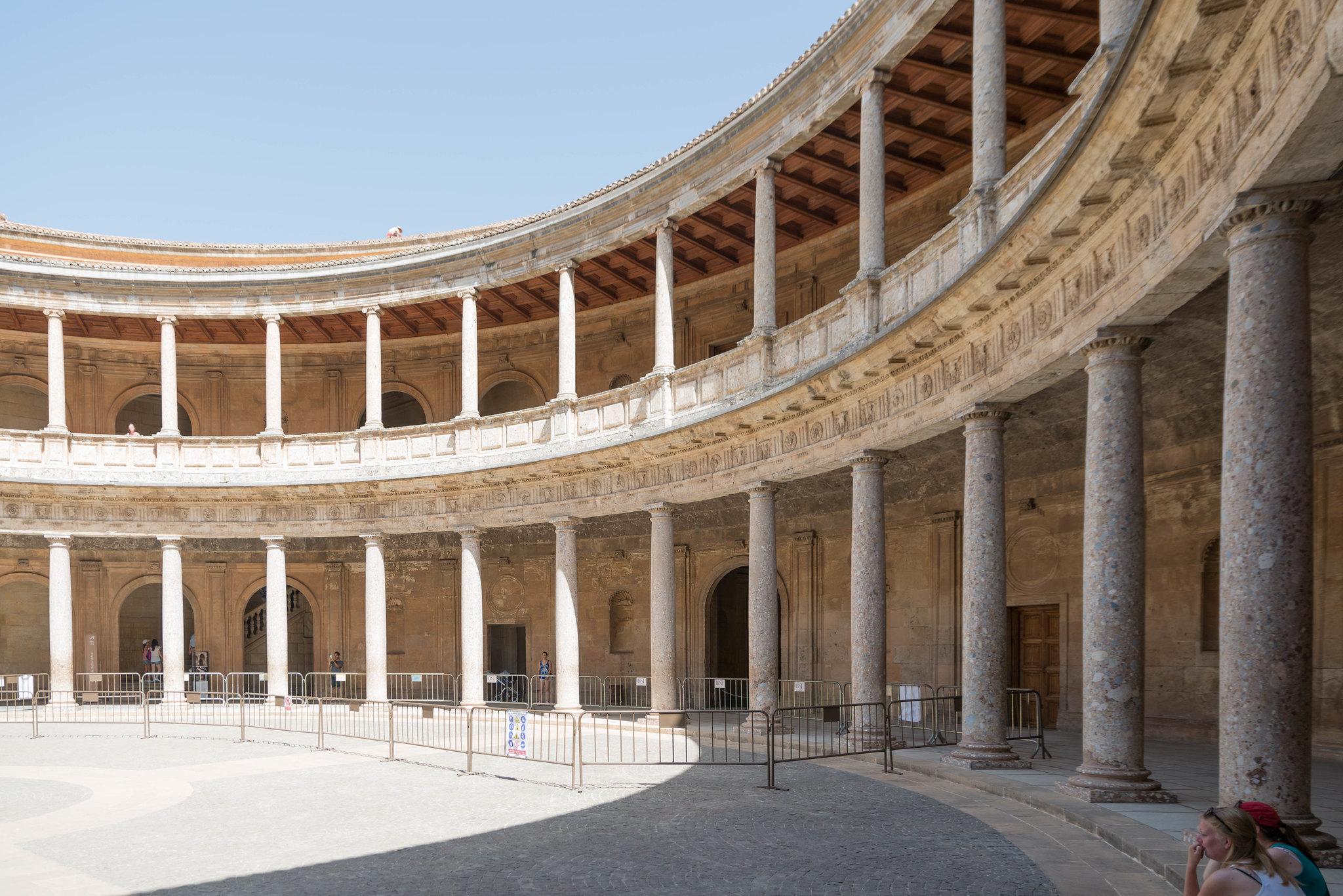 Alhambra Granada Spain curves