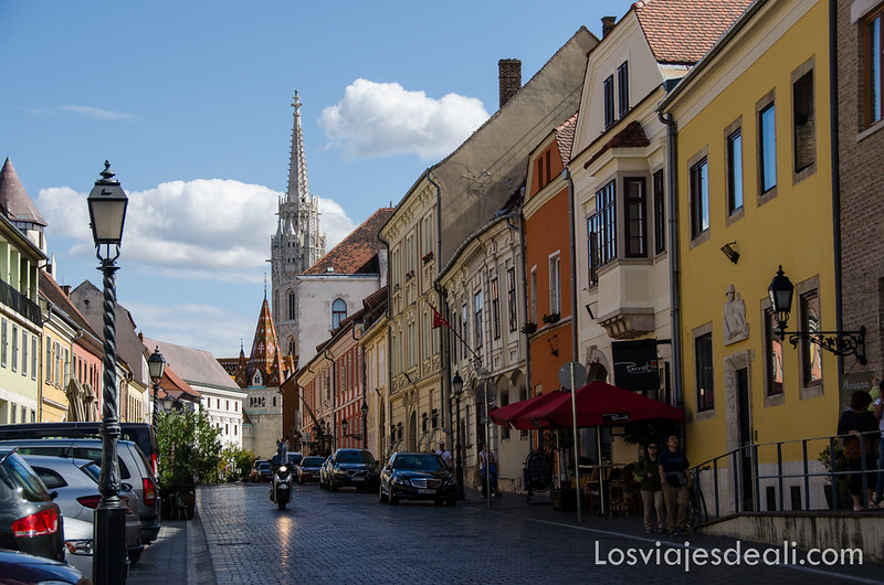 calles de Budapest zona del Castillo