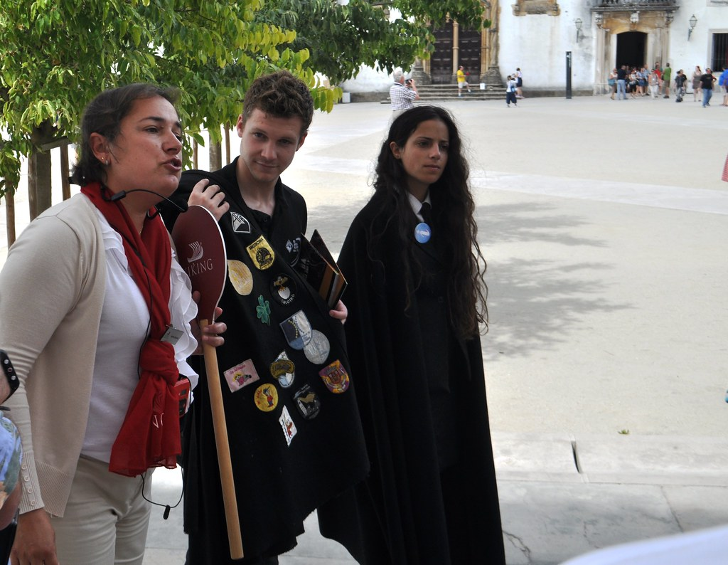 #VikingCruises Guide Explains the Capes University of Coimbra Students Wear.