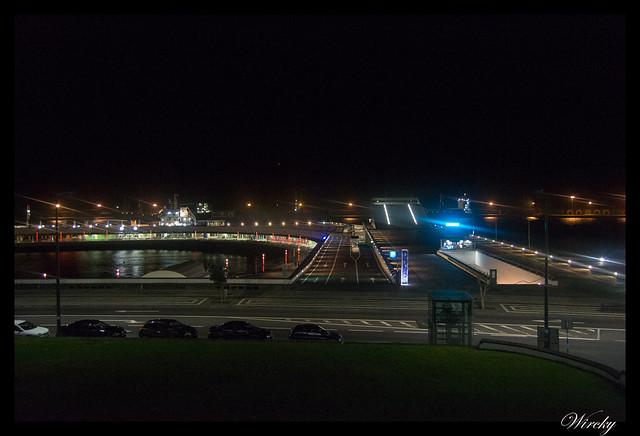 Paseo nocturno por Ponta Delgada - Puerto de noche