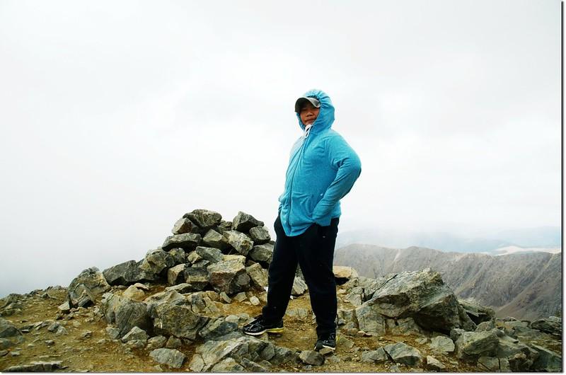 The summit of Torreys Peak 5
