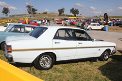 automobile, automotive exterior, executive car, vehicle, full-size car, ford xy falcon gt, antique car, sedan, land vehicle, luxury vehicle,