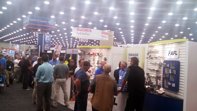 Booth was full at ICUEE 2015