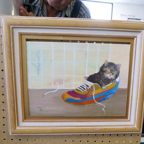 cat in a nike