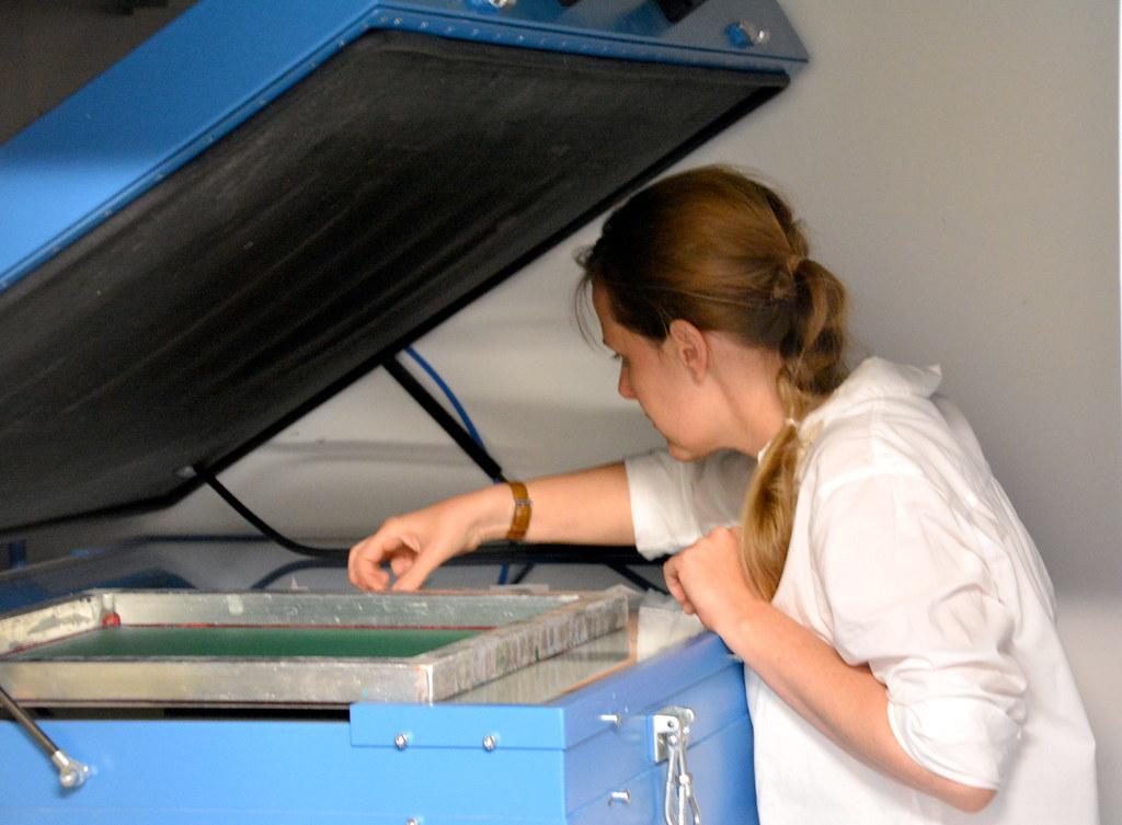 Workshop Lotte Martens: machine