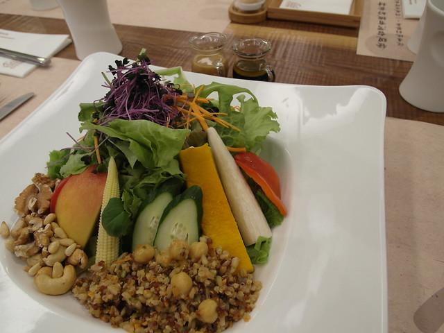 當令蔬食沙拉@棉花田有機餐廳