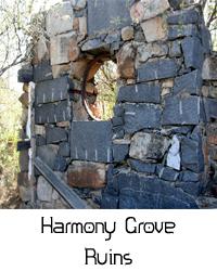 harmony grove ruins