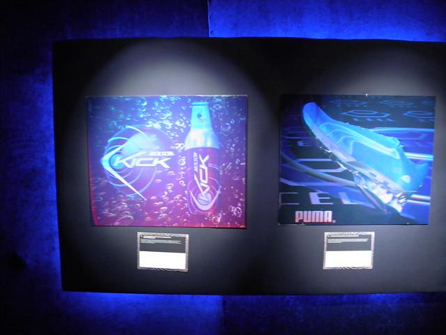 Синие кроссовки Puma | Прохладительный напиток Molson Kick