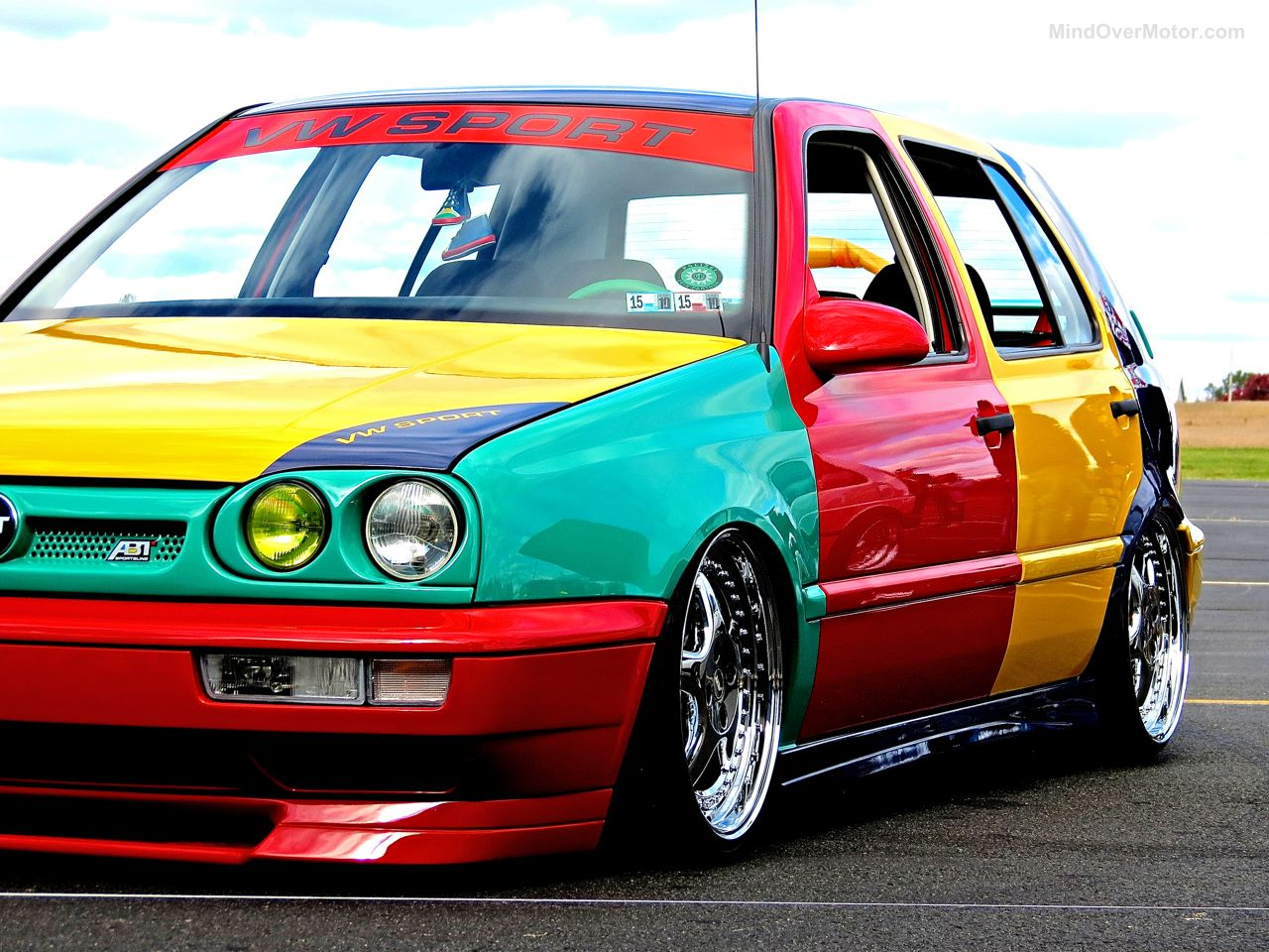 First Class Fitment VW Mk3 Golf Harlequin