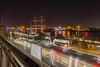 U-Bahn Landungsbrücken, Blick flussaufwärts by Hamburg PORTography