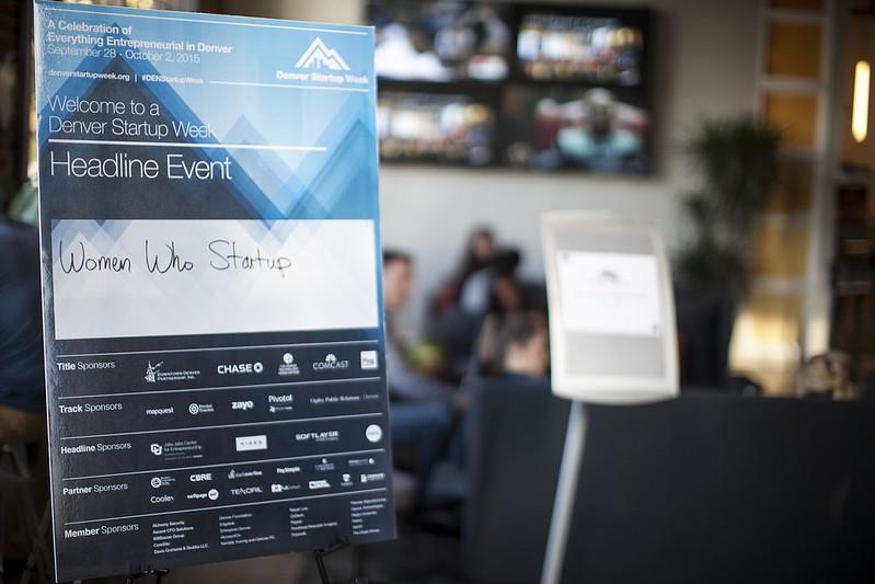 Women Who Startup Summit Denver Startup Week 2015