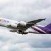 Thai A380 Departure