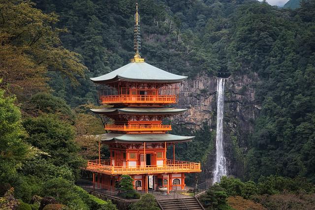 Pagoda & Nachi Falls