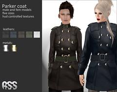 A:S:S - Parker coat for Gen-Neutral