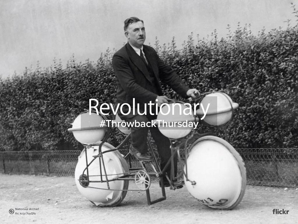 Throwback Thursday: #Revolutionary