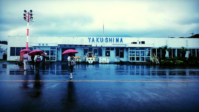 起飛前仲話天氣太差, 有可能要折返福岡或轉飛鹿児島, 好彩無事到著。