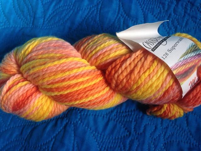 128 Superwash Multis by Cascade Yarns. Color 106