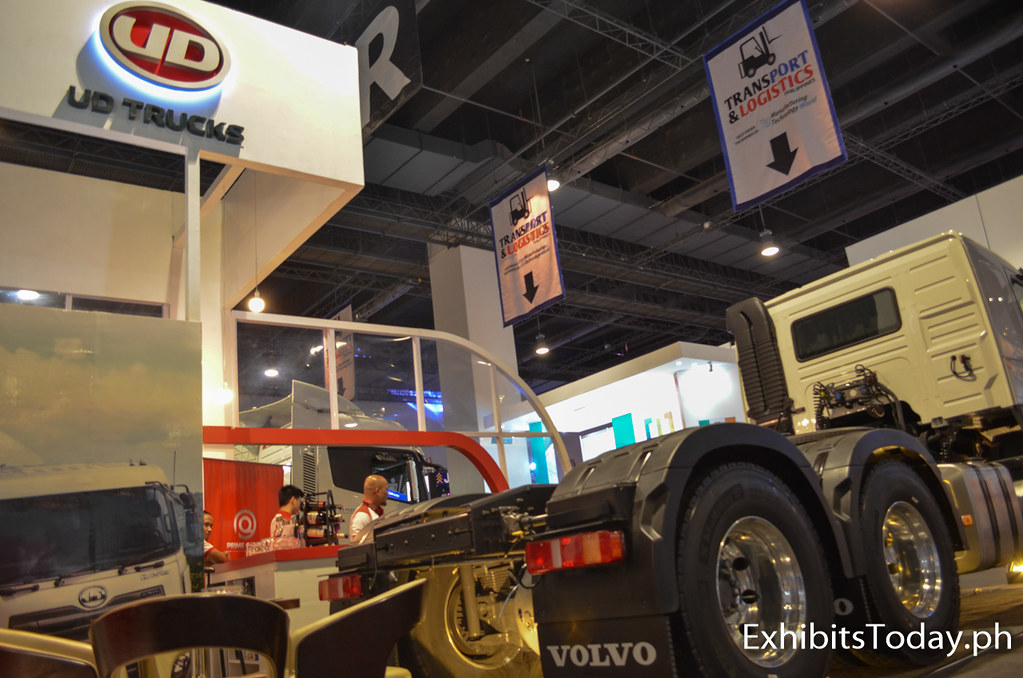 UD Trucks Exhibit Pavilion