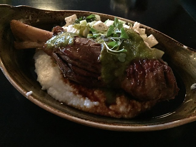Braised lamb shank - Saltrock Southwest Kitchen